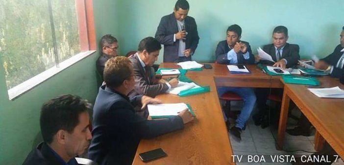 Fotos da 28ª Sessão Ordinária, no Plenário da Câmara Municipal de São Sebastião da Boa Vista