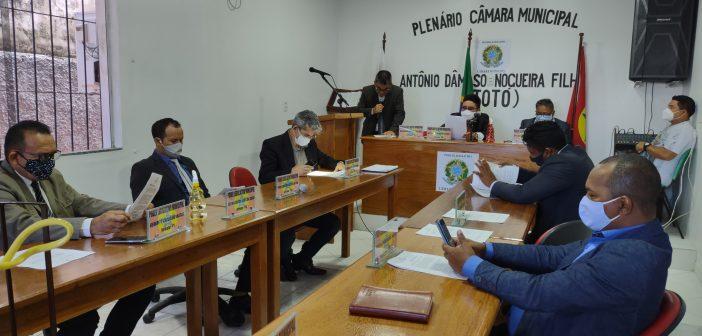 Foto da 2º sessão extraordinária da Câmara Municipal de São Sebastião da Boa Vista. Realizada dia 23 de Junho 2021
